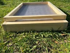8 FRAME STAINLESS STEEL MESH BEE HIVE BOTTOM BEEHIVE NZ PINE PICKUP AVAILABLE
