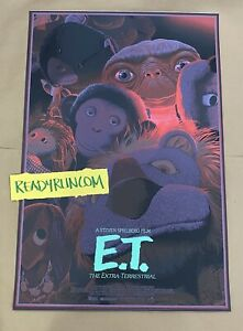E.T. Extra Terrestrial Laurent Durieux Poster Print Sold Out
