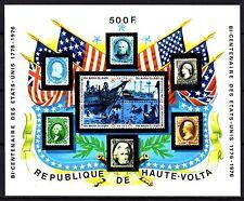 Upper Volta / Burkina Faso - 1975 Bicentenary USA - Mi. Bl. 31 MNH