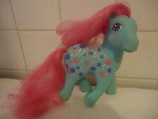 Mon petit poney vintage blanc / My little pony Posey G1 hong-kong 1987  bon état