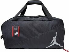JORDAN NIKE JUMP MAN SPLIT DUFFEL BAG, BLACK/GREY  , M