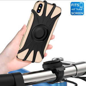 VUP® Detachable Bike Mount Phone Holder Universal Bicycle for iPhone Samsung