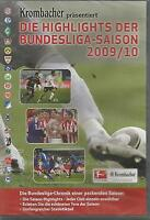 Die Highlights der Fußball Bundesliga Saison 2009/10 / NEU / DVD