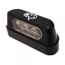 Éclairage de plaque homologué 4 LED 12V noir One moto scooter 50 à boîte Neu