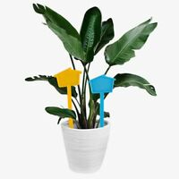 KE_ 20Pcs Mini Small House Shape Plant Tags Flower Name Labels Bonsai Markers