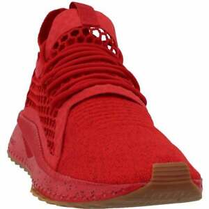 Puma Tsugi Netfit V2 Evoknit Dust Lace Up  Mens  Sneakers Shoes Casual   - Red -