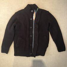 BODEN Men's 100% Wool Knit Jumper Brown Size M