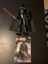 used LEGO 75534 Star Wars Darth Vader Buildable Figure 2018 Complete Manual