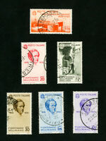 Italy Stamps # 349-54 VF Used Clean Scott Value $705.00