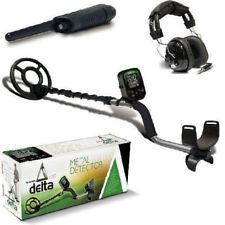 Teknetics Delta 4000 Metal Detector with Headphones and Pinpointer DELTA-GWP