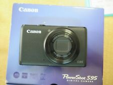 +Canon PowerShot S95 10.0MP Digital Camera - Black UNDER 350 SHUTTER COUNT