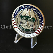 B84 Border Patrol 2013 Presidential Inauguration Barack Obama Challenge Coin