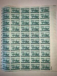 US Stamps SC# 981 Minnesota Territory 3c sheet of 50 MNH 1949