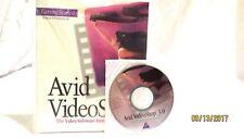 AVID VideoShop 3.0 Macintosh Computer Software
