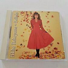 Miho Nakayama Ballads CD Made In Japan