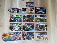 LEGO - X14 Bulk Pack Instruction Booklets - Star Wars - 75022 9498 75040 +