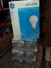 15 BULBS GE 41028 60 WATT INCANDESCENT SOFT WHITE LIGHT BULB 840 LUMENS A19