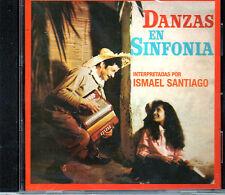 ISMAEL SANTIAGO - DANZAS DEN SINFONIA / MUSICA DE PUERTO RICO - CD