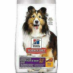 Hill's Science Diet 8860 Adult Sensitive Stomach and Skin Dry Dog Food - 15.5lbs