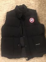 Canada Goose Mens Freestyle Down Vest Black Medium