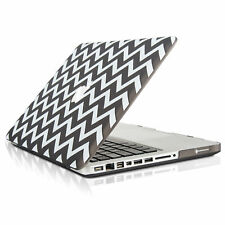 "UNIK CASE-Chevron Matte Hard Case for Macbook Pro 15"" with DVD Drive-Grey"