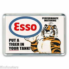 RETRO NOSTALGIA -PUT A TIGER IN YOUR TANK ESSO - EXXON ADVERTJUMBO Fridge Magnet