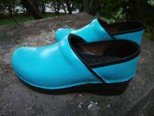 Dansko Turquoise Clogs 37