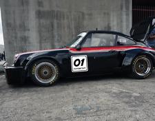 Custom Rally Number Plate Autocross Racing Door Decal Sticker Track Race Rs7