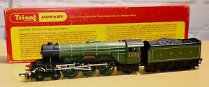 Vintage Triang Hornby R855 Flying Scotsman, RN 4472, LNER, Apple Green, Class A3