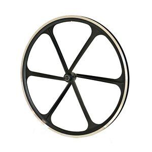 TENY 700C Road Bike Rim Brake Front Wheel For Sram Shimano Black
