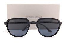 Brand New GIORGIO ARMANI Sunglasses AR 6027 3001/87 Matte Black/Grey   Men