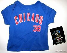CHICAGO CUBS NEW Lot 6 Baby Infants T-Shirt Tee WHOLESALE RESELLER Shirts NWT