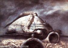 HR Giger Art Poster Print Dune II Skull Dome Skeleton Species Alien Baphomet Sil