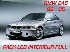 FULL KIT 16 LED INTÉRIEUR BMW SÉRIE 3 E46  ANTI ERREUR OBD BLANC PUR