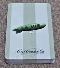 C'est Comme Ca French Fashion - 2007 Pack of Pictotial Playing Cards - Blimp