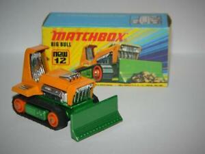 MATCHBOX LESNEY SUPERFAST BIG BULL No.12 MINT IN Mint I1 BOX VINTAGE 1975