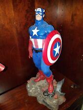 Sideshow Captain America premium format statue