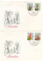 "DDR, FDC ""Bromelien"" 3149 - 3152 ESSt 16.02.1988"