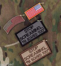 AFSOC COMBAT RESCUE PEDRO PJ MEDIVAC vel©®😎TAB: #4-Stop Screaming + #2-US Flag