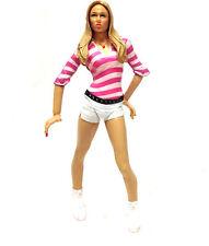 "WWF WWE TNA WRESTLING Stacy Keibler diva 6""  female figure RARE"