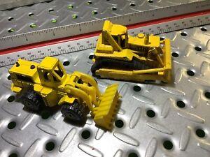 1979-1981 Hotwheels 3 Wheel Loader & Bull Dozer
