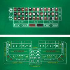 Craps And Roulette Table Felt 5781