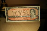 1954 $2 Dollar Bank of Canada Banknote PG6002797