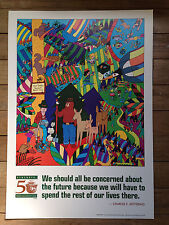 Smokey The Bear Forest Fire Prevention Poster 50th Anniversary