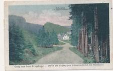 AK Gruss aus dem Erzgebirge Eingang Schwarzwassertal (K) 19953