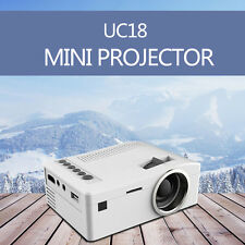 Portable LED Home Theater Digital Mini Projector UC18 Cinema 1080P HD HDMI Video