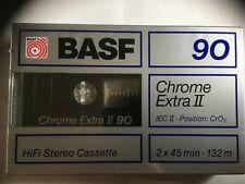 BASF CHROME EXTRA II 90 FACTORY SEALED AUDIO CASSETTE