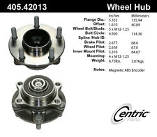 StopTech Wheel Bearing and Hub Assembly Front for Infiniti, Nissan / 405.42013