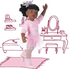 Hannah at The Ballet Afro-American by Gotz, a 19.5 Inch Full Vinyl Doll
