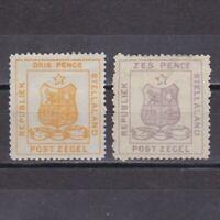 SOUTH AFRICA STELLALAND 1884, Sg# 2,4, CV £75, MH/No gum
